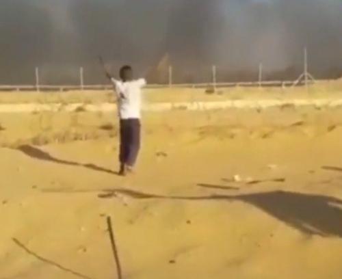 Fake Pallywood shooting Gaza
