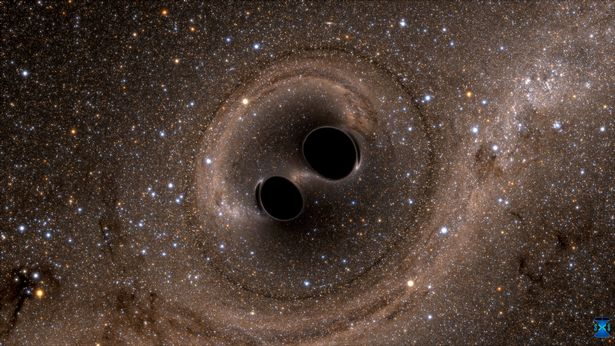 The-collision-of-two-black-holes_source_Caltec